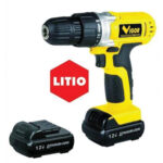Vigor Trapano a batteria VST-1300 LITIO